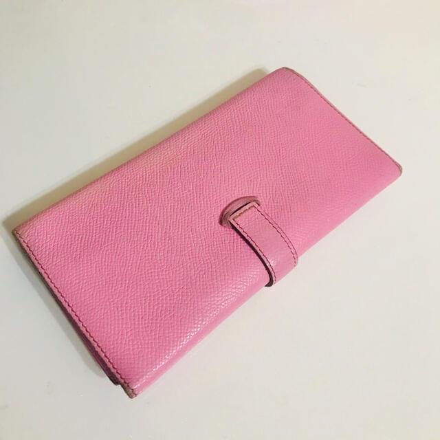 Hermes(エルメス)のエルメス べアン ローズコンフェッティ レディースのファッション小物(財布)の商品写真