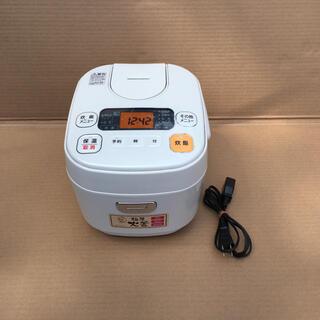 アイリスオーヤマ - アイリスオーヤマ 炊飯器 米屋の旨み 極厚火釜 3合炊き ORC-MA30-W