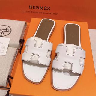 Hermes - HERMESエルメス サンダル 《オラン》