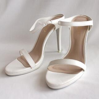 rienda - rienda リエンダ サンダル 白 ホワイト S 靴