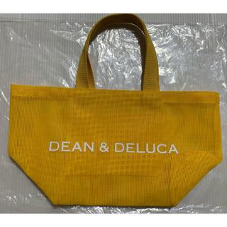 ディーンアンドデルーカ(DEAN & DELUCA)のDEAN&DELUCA  トート S  メッシュ イエロー(トートバッグ)