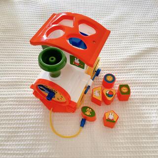 ポリシエ miffy 知育おもちゃ