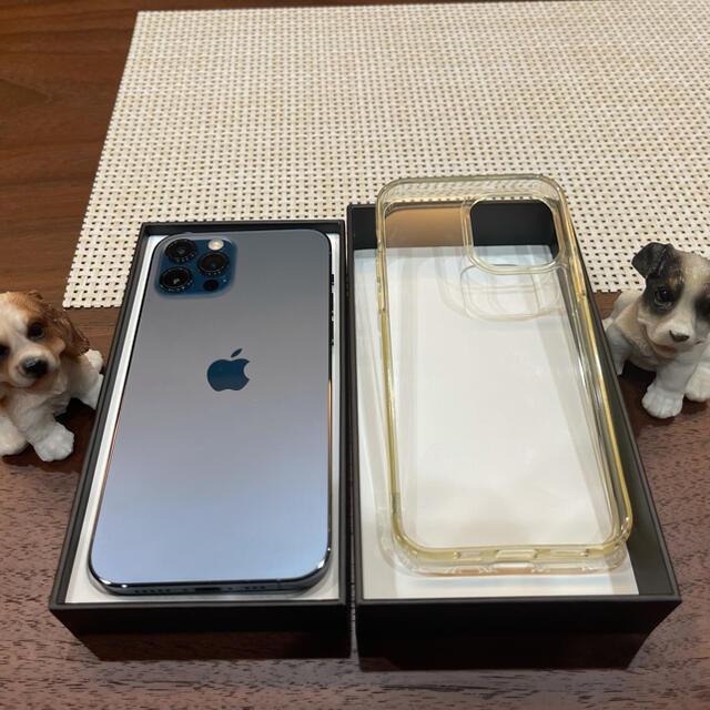 iPhone(アイフォーン)の【新品同様】【SIMフリー版】正規Apple iPhone 12 Pro ブルー スマホ/家電/カメラのスマートフォン/携帯電話(スマートフォン本体)の商品写真