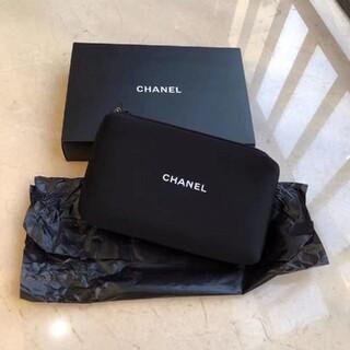 CHANEL - CHANEL  シャネル ノベルティ非売品 ブラックポーチ
