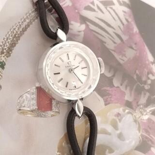 OMEGA - ⭐OH済 K18WG金無垢 オメガ 純正バックル レディース腕時計 着物 極上品