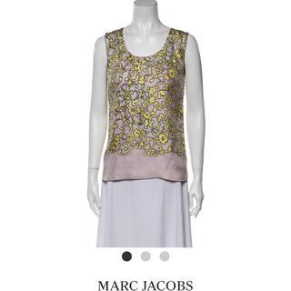 マークジェイコブス(MARC JACOBS)のMarc Jacobs Silk Top シルクトップス(カットソー(半袖/袖なし))