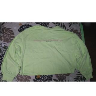 ジーユー(GU)のグラフィックボリュームスリーブT(長袖)Q(Tシャツ(長袖/七分))