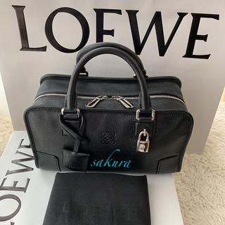 LOEWE - ロエベLOEWE アマソナ28 ブラック×シルバー
