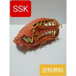 エスエスケイ(SSK)のSSK 硬式プロエッジ外野手用 PEK57617F 野球 硬式グローブ 送料無料(グローブ)