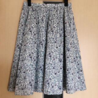 アナイ(ANAYI)の【極美品】アルアバイル フレアスカート 花柄 リバティプリント Sサイズ(ひざ丈スカート)