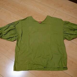 チャイハネ(チャイハネ)のチャイハネ レディース トップス 半袖 パフスリーブ 緑(Tシャツ(半袖/袖なし))
