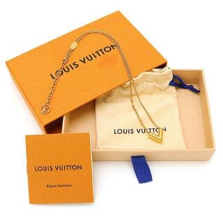LOUIS VUITTON - ☆LOUIS VUITTON ネックレス エセンシャルV ゴールド ☆