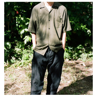 COMOLI - 新品 COMOLI 21ss ベタシャン オープンカラーシャツ AURALEE