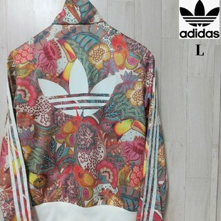 アディダス(adidas)の【美品】adidas アディダス art flower t.top 総花柄 L(その他)