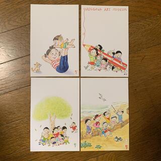 サザエさん ポストカード 4枚(写真/ポストカード)