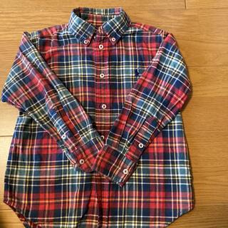 ラルフローレン(Ralph Lauren)のラルフローレン チェックシャツ 110(Tシャツ/カットソー)