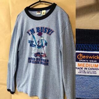 トウヨウエンタープライズ(東洋エンタープライズ)のCHESWICK Looney Tunes ロンT M 水色(Tシャツ/カットソー(七分/長袖))