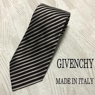 ジバンシィ(GIVENCHY)のGIVENCHY ジバンシー イタリア製 ネクタイ ブラック系(ネクタイ)