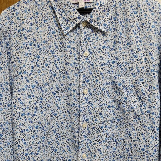 UNIQLO(ユニクロ)のユニクロ リネン柄シャツ メンズのトップス(シャツ)の商品写真