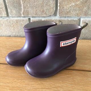 stample  スタンプル 長靴 レインブーツ 14㎝(長靴/レインシューズ)