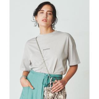Mila Owen - ミラオーウェン フロッキープリントTシャツ