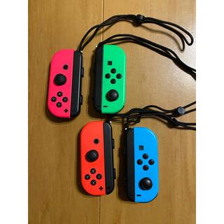 ニンテンドースイッチ(Nintendo Switch)のジョイコン ジャンク  4つセット!(家庭用ゲーム機本体)