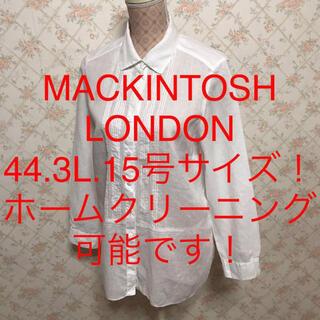 MACKINTOSH - ★MACKINTOSH LONDON/マッキントッシュロンドン★長袖ブラウス44