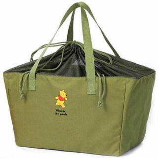 クマノプーサン(くまのプーさん)のくまのプーさん ★ レジかごお買い物バッグ ★ 新品付録(エコバッグ)