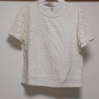 ハニーズ(HONEYS)のハニーズ 半袖レースTシャツ (M)(Tシャツ(半袖/袖なし))