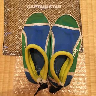 キャプテンスタッグ(CAPTAIN STAG)のCAPTAIN STAG マリンシューズ JS 16〜18cm(アウトドアシューズ)