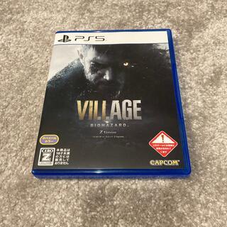 バイオハザード ヴィレッジ Z Version PS5 初回限定コード未使用