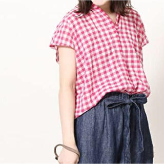 コーエン(coen)の【coen】ギンガムチェック シャツ(シャツ/ブラウス(半袖/袖なし))