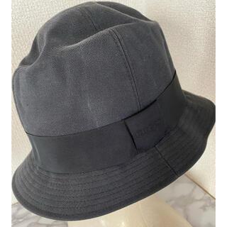 グッチ(Gucci)のGUCCI グッチ ハット 帽子 ブラック 男女兼用(ハット)