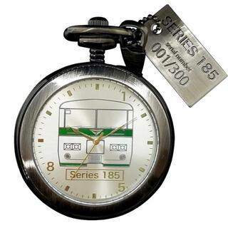 数量限定生産!!定期運用終了記念 185系電車懐中時計(鉄道)