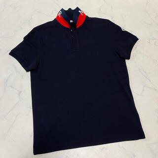 MONCLER - 正規保証 国内正規品 極美中古 20SS モンクレール 襟ロゴ入り ポロシャツ