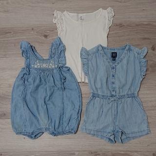 ベビーギャップ(babyGAP)の女の子 ベビー服 子供服 GAP(カバーオール)
