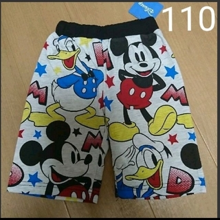 ディズニー(Disney)の男の子 ズボン ミッキー ズボン(パンツ/スパッツ)