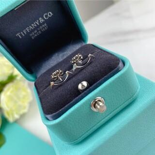 Tiffany & Co. - TIFFANYティファニー ホワイトゴールド ピアス