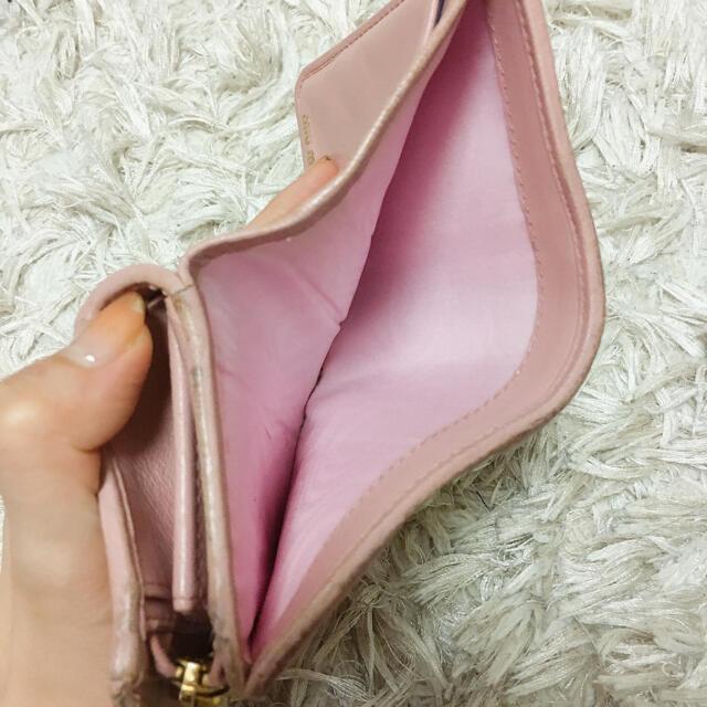miumiu(ミュウミュウ)のMiumiu 二つ折り財布 マテラッセ レディースのファッション小物(財布)の商品写真
