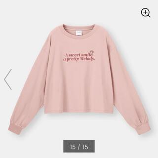 ジーユー(GU)の新品 GU ロングスリーブT サンリオ マイメロディ 長袖 Tシャツ S ピンク(Tシャツ(長袖/七分))
