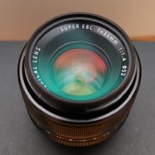 富士フイルム - 富士フイルム XF 35mm F1.4 R おまけ