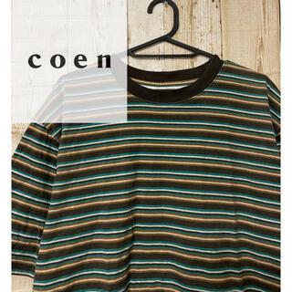 コーエン(coen)のcoen コーエン 半袖Tシャツ(Tシャツ/カットソー(半袖/袖なし))