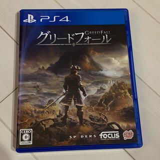 PlayStation4 - グリードフォール ps4 ソフト