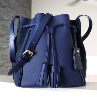 LONGCHAMP - 美品 ロンシャン ペネロペ 巾着型 レザー 斜め掛け ショルダー バッグ