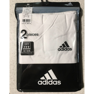 アディダス(adidas)の5/23まで限定価格 アディダス グンゼ Tシャツ Mサイズ 2枚組(その他)