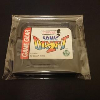セガ(SEGA)のゲームギア ソニックドリフト 2(携帯用ゲームソフト)