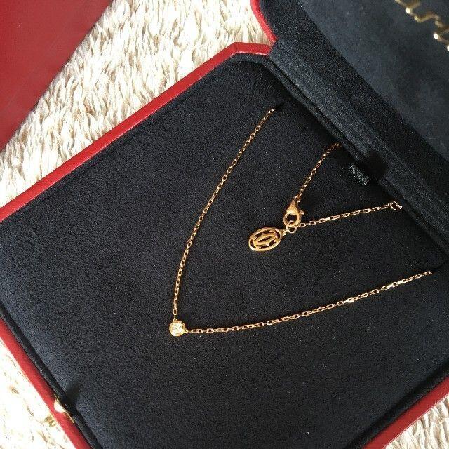 Cartier(カルティエ)のカルティエ ダイヤ ネックレス Cartier レディースのアクセサリー(ネックレス)の商品写真