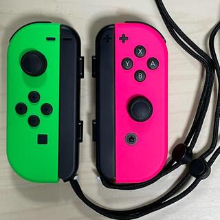 ニンテンドースイッチ(Nintendo Switch)のNintendo Switch Joy-Con ネオングリーン ネオンピンク(家庭用ゲーム機本体)