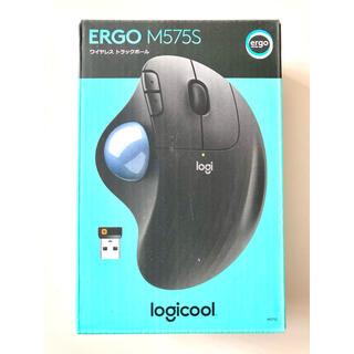 エレコム(ELECOM)の新品未使用Logicool M575 ワイヤレストラックボール ERGO(PC周辺機器)