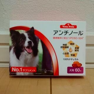 Vetz Petz 犬用  アンチノール 60カプセル入 1箱